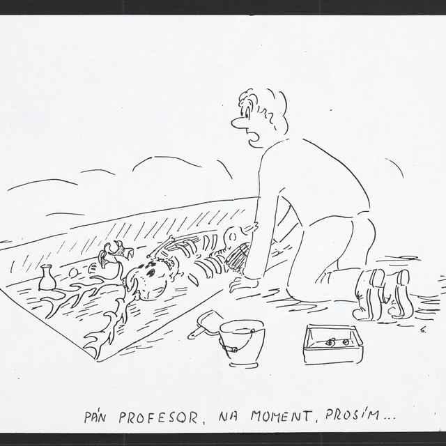 Kresba Pavola Benžu zo Senice