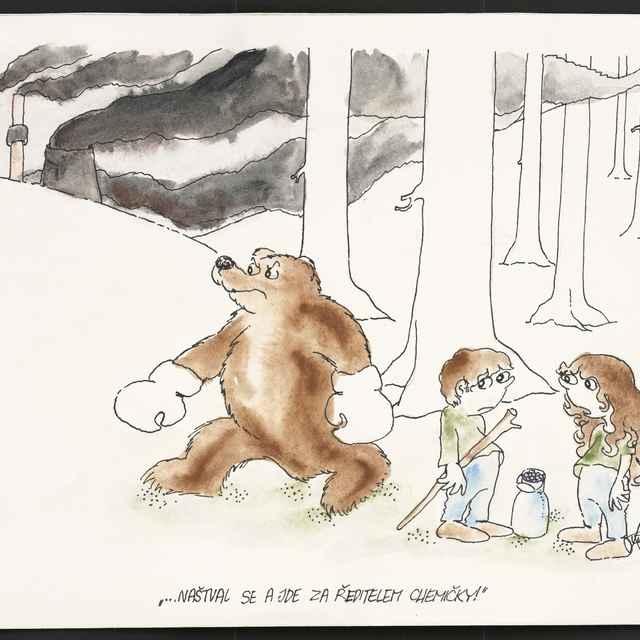 Kresba Františka Fukšu