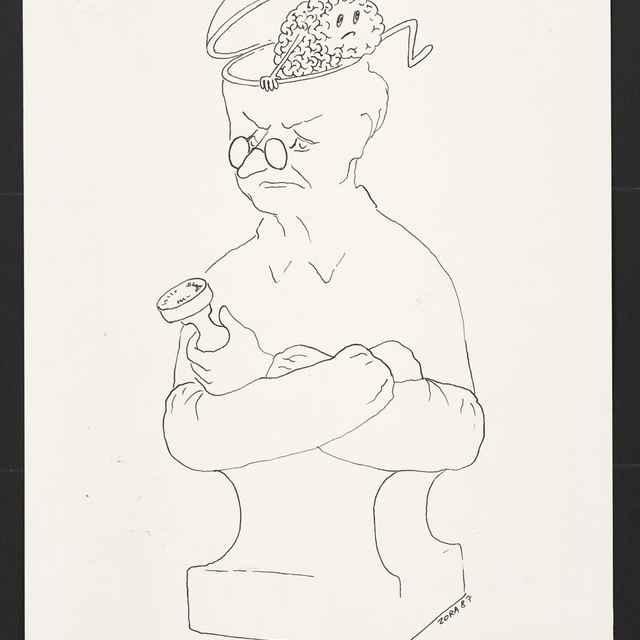 Kresba Zory Buriánovej z Prahy