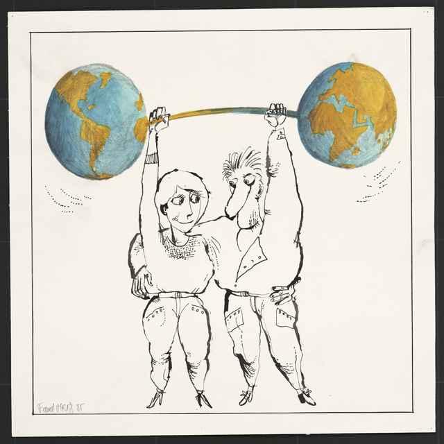 Kresba Františka Mráza z D. Kubína