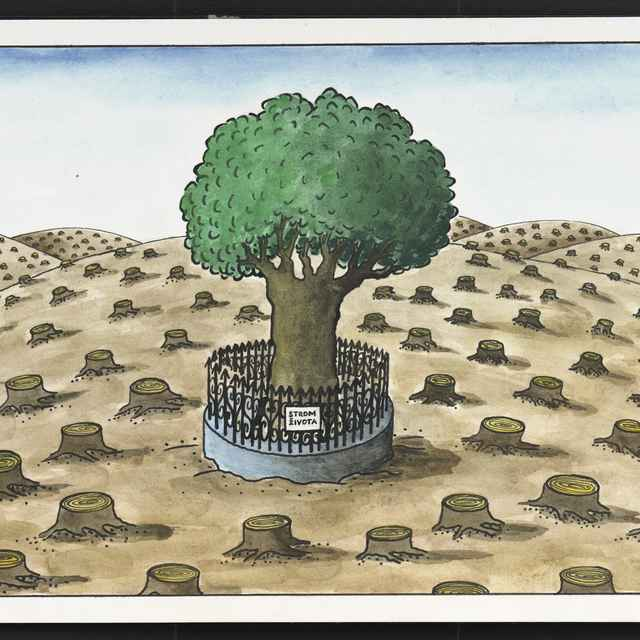 Kresba Františka Jablonovského