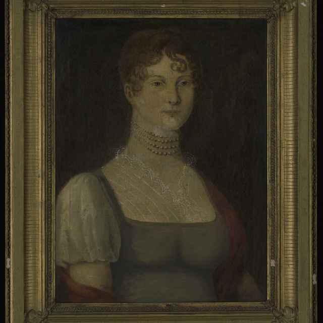 Obraz - olejomaľba na plátne: Portrét ženy, 76x61,5cm