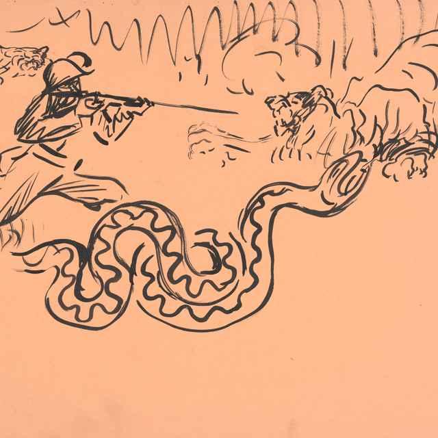 Poľovačka v džungli - Weisz-Kubínčan, Arnold Peter