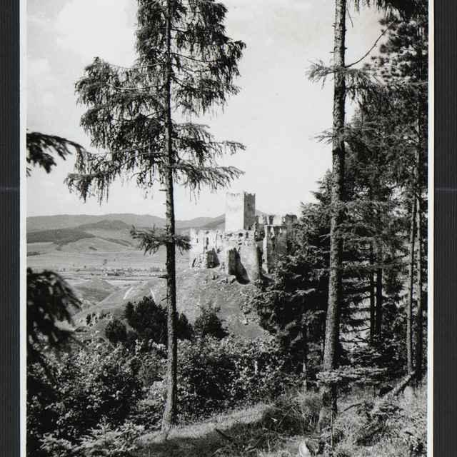 Fotografia - <u>hrad</u> Strečno