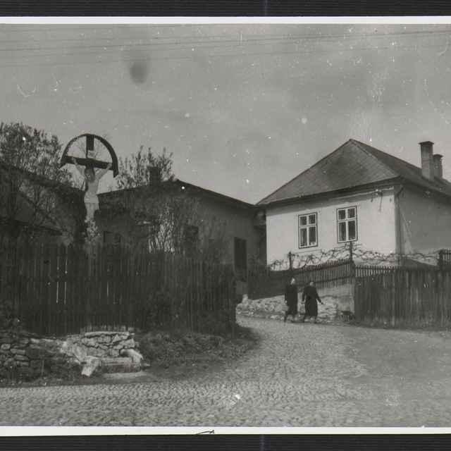 Fotografia čiernobiela - Žilina, mestská časť Čepiel, 1930-1936 - Tatár, Július