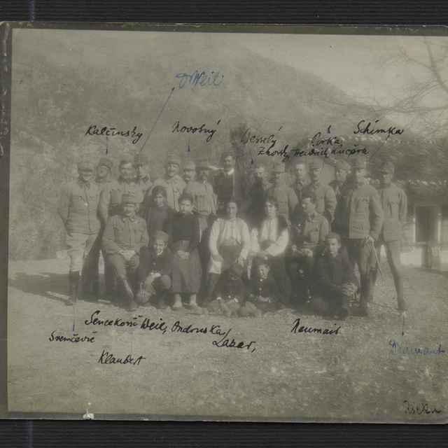 Fotografia z I. svetovej vojny