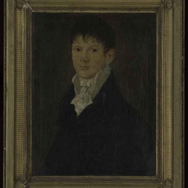 Obraz - olejomaľba na plátne: Portrét F.Kragla, 1809, 76x61,5cm