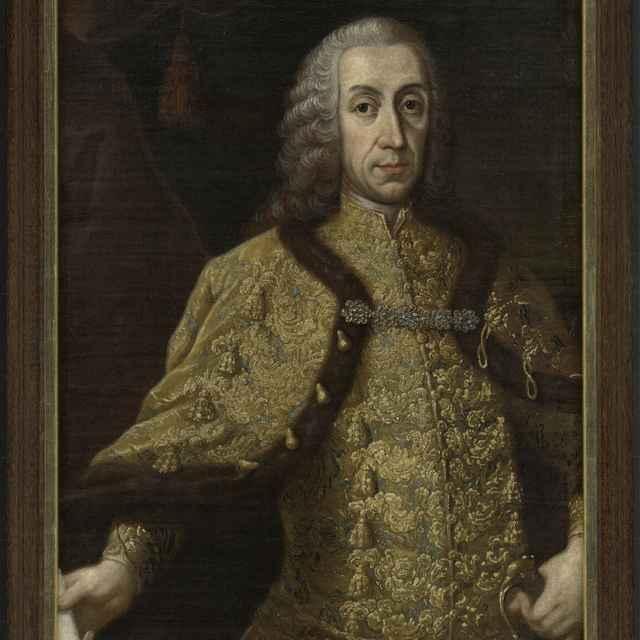 """Obraz, olej na plátne, """" Podobizeň Leopolda Nádasdyho"""""""