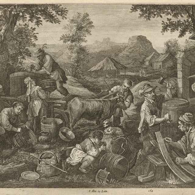 Jeseň - štyri ročné obdobia - Bassano, Jacopo