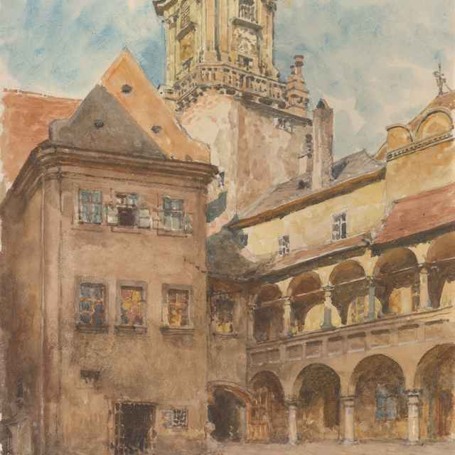 Nádvorie Starej radnice v Bratislave - Tomec, Jindřich
