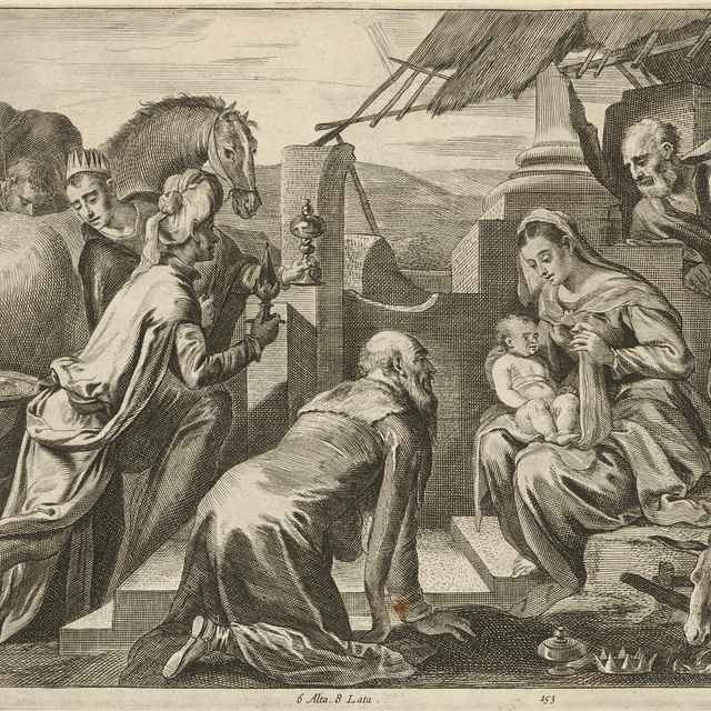 Klaňanie troch kráľov - Kessel, Théodorus van