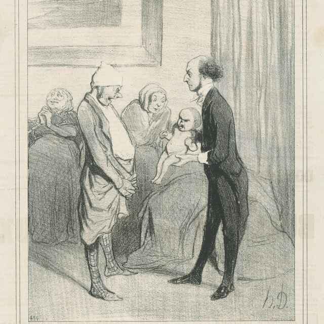Bstup do života - Daumier, Honoré