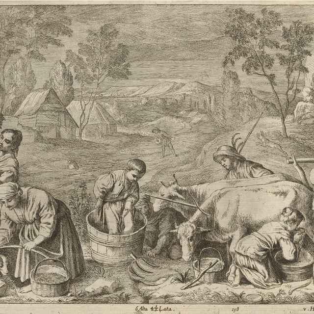 Jeseň - štyri ročné obdobia - Bassano II., Francesco - Výtvarné umenie