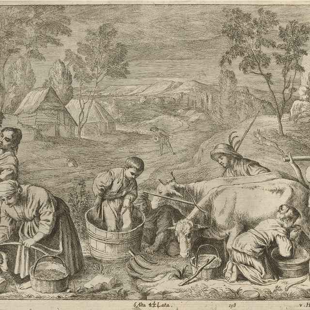 Jeseň - štyri ročné obdobia - Bassano II., Francesco