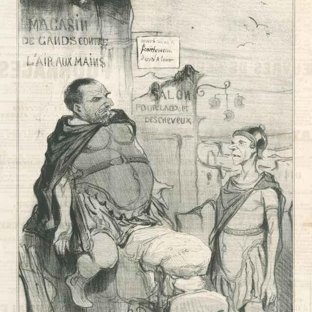 Márius v Kartágu - Daumier, Honoré