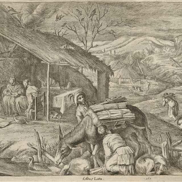 Zima - štyri ročné obdobia - Teniers ml., David