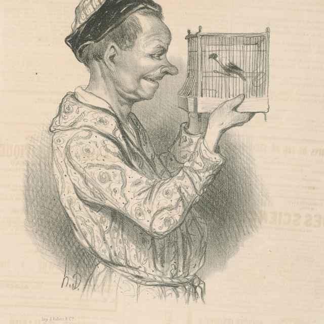Milovník zvierat - Daumier, Honoré