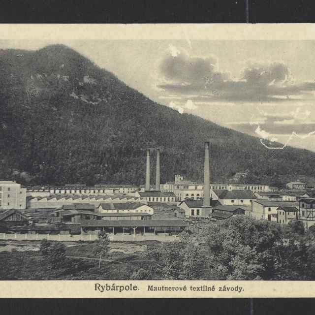 Pohľadnica: textilka Ružomberok