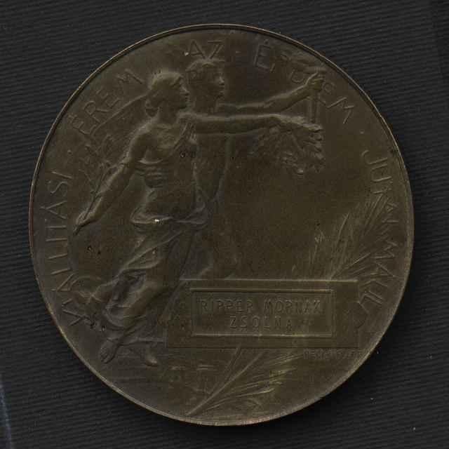 Medaila z výstavy z roku 1896 - neznámy (osobné meno) - Muzeálny objekt