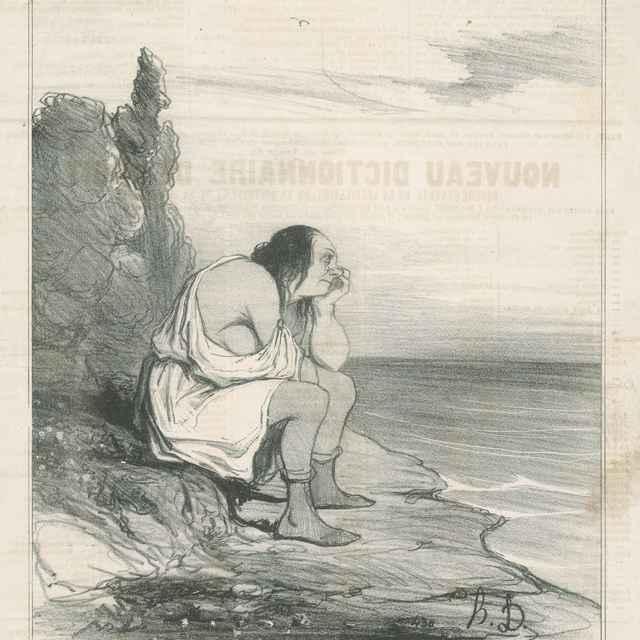 Cylypsino zúfalstvo - Daumier, Honoré