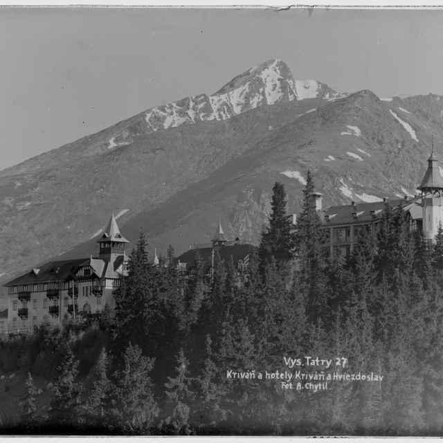 Vysoké Tatry (diapozitív) - Chytil, Alois