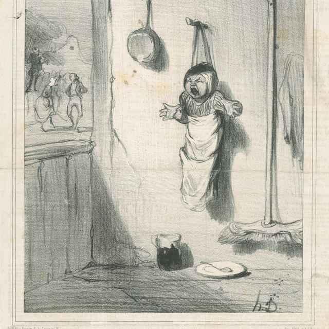 Tanec - Daumier, Honoré