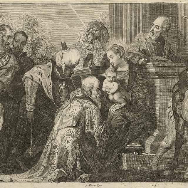 Klaňanie troch kráľov - Veronese, Paolo