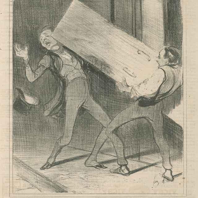 Ah, prepáčte! - Daumier, Honoré
