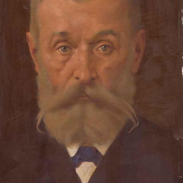 Portrét Svetozára Hurbana Vajanského - Mitrovský, Milan Thomka