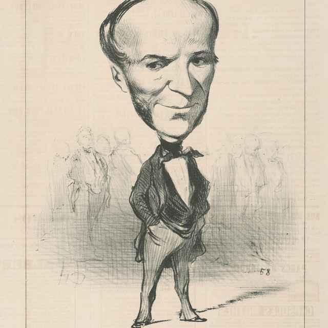 Agricol Perdiquier - Daumier, Honoré