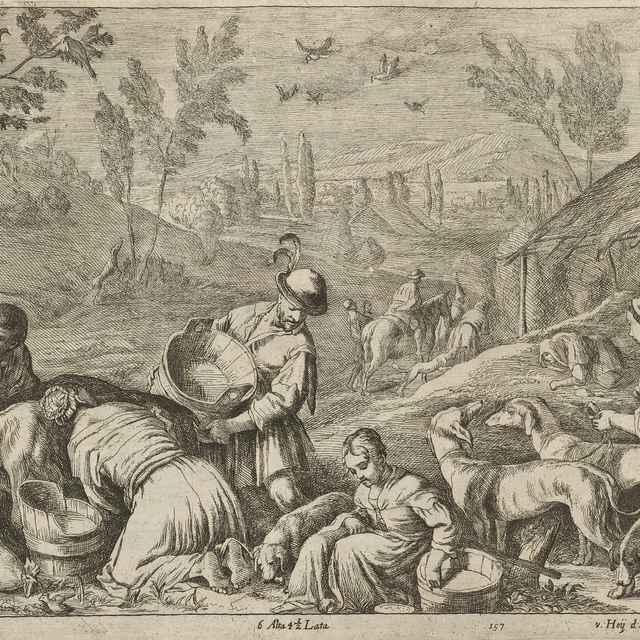 Jar - štyri ročné obdobia - Bassano II., Francesco