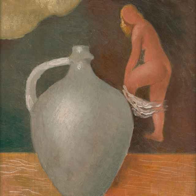 Žena s krčahom - Galanda, Mikuláš