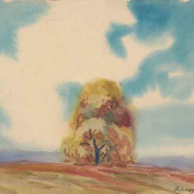 Jesenný strom - Palugyay, Zolo