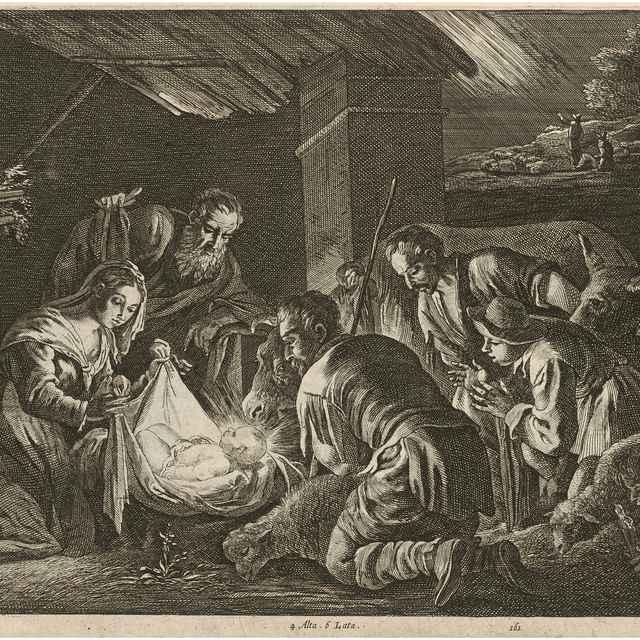 Klaňanie pastierov - Bassano, Jacopo