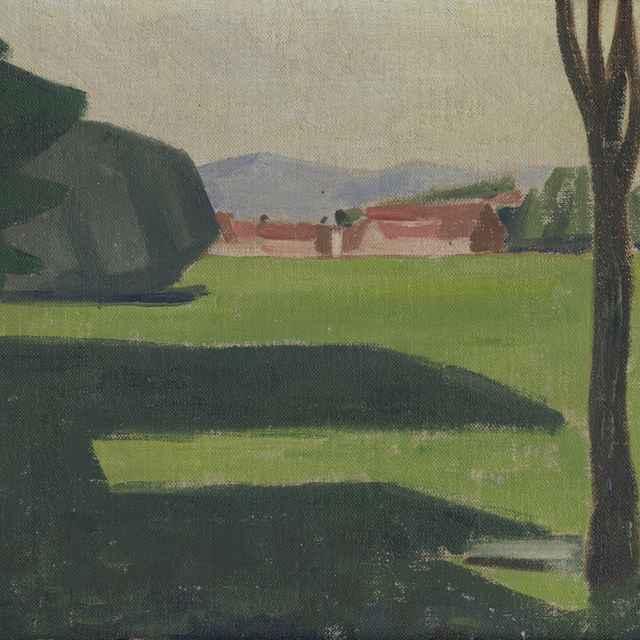 Pohľad z okna na Dolnú Štubňu - Galanda, Mikuláš