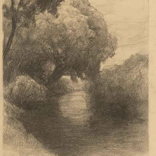 Tichý potok pod stromami - Čordák, Ľudovít