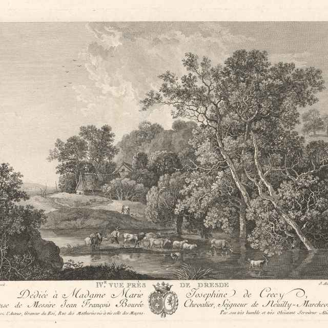 Krajina pri Drážďanoch - Aliamet, Jacques
