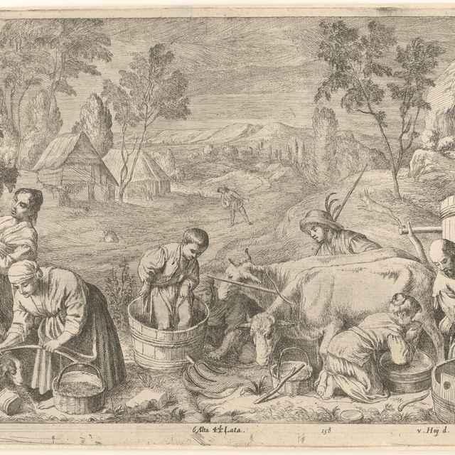 Jeseň - Ossenbeck, Jan van - Výtvarné umenie