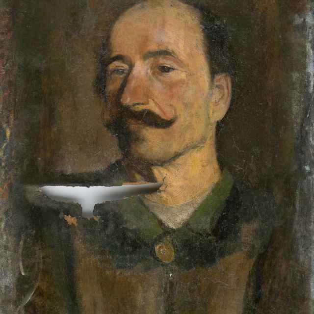 Portrét muža - Mednyánszky, Ladislav