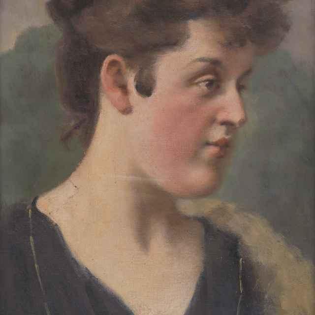 Portrét H.Krčméryovej - Mitrovský, Milan Thomka