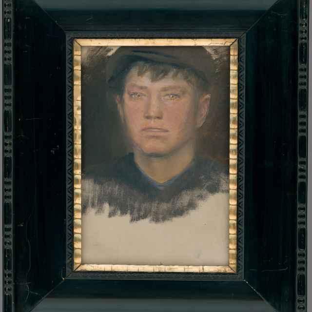 Portrét chlapca - Mednyánszky, Ladislav