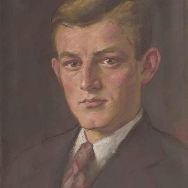 Portrét mladého muža - Mitrovský, Milan Thomka