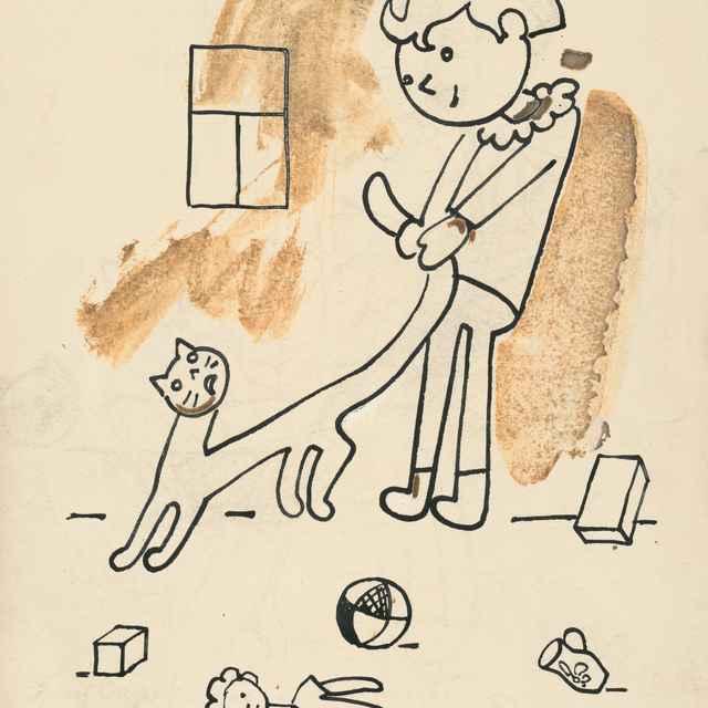 37. Povídání o pejskovi a kočičce - Čapek, Josef