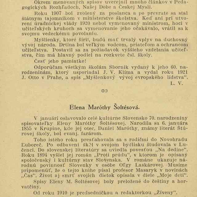 Elena Maróthy Šoltésová - ,