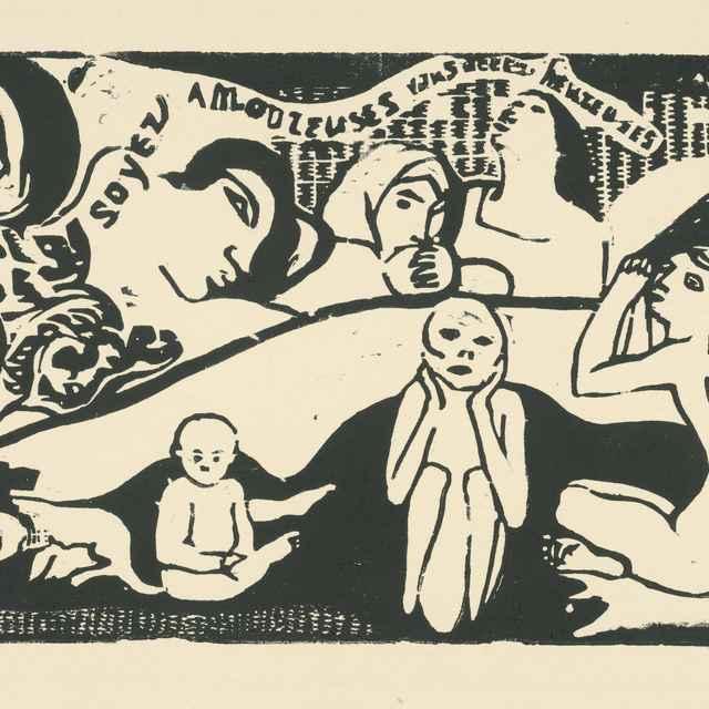 Soyez amoureuses vous serez heureuses - Gauguin, Paul