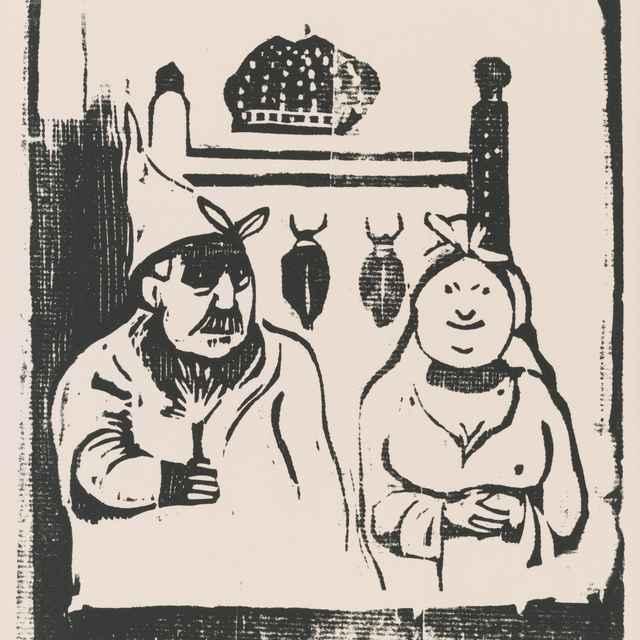 Komické postavy - Gauguin, Paul