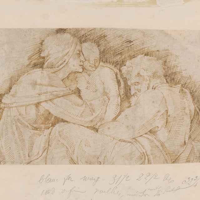 Svätá Rodina - Taliansky autor zo 16. storočia