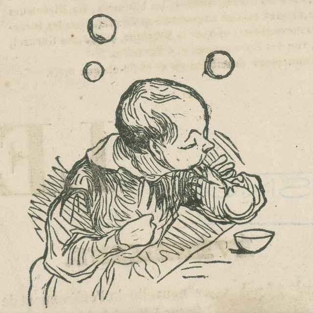 Bublinky - Daumier, Honoré