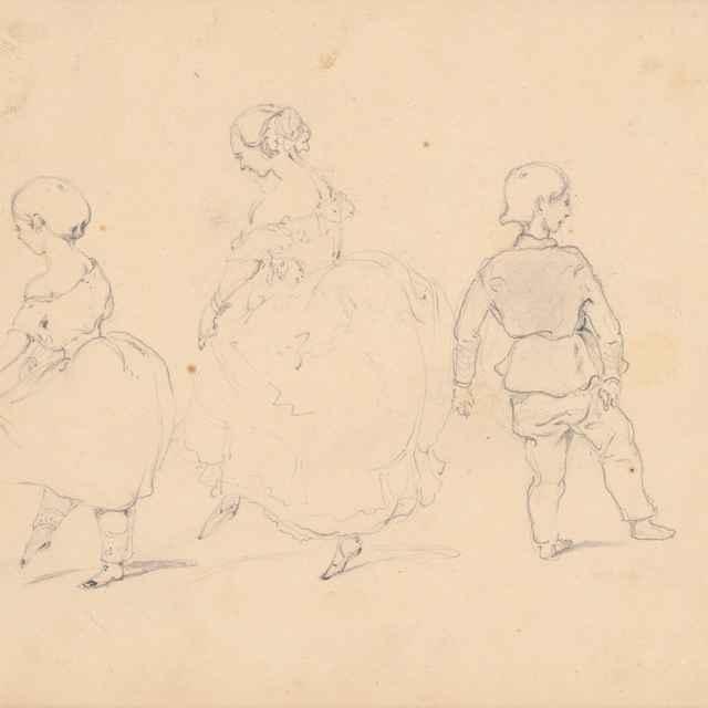 Hodina tanca - Scheidlin, Friedrich Carl von