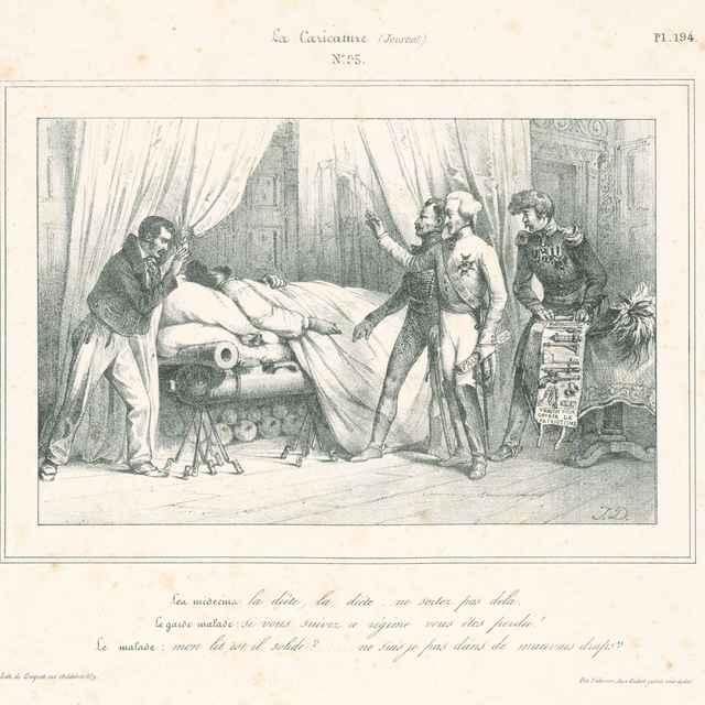 Ranený vojak - David, Jules